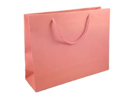 Shopper lux rosa matt personalizzabile